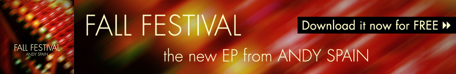 FREE Download of Fall Festival, the new EP from Andy Spain.
